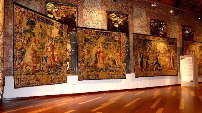 Imagen de archivo de la Real Fábrica de Tapices
