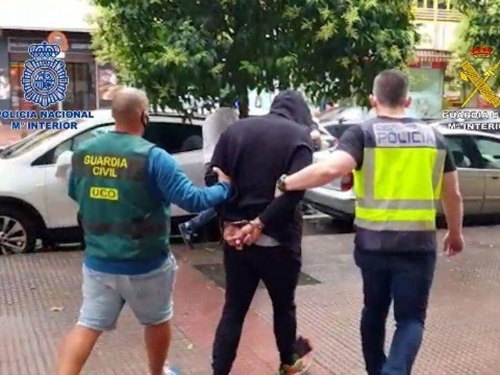 Incautadas cuatro toneladas de hachís que iban a ser vendidas en Madrid