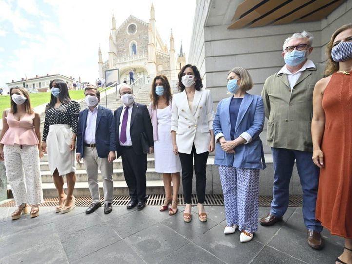 La política madrileña tras la distinción de la Unesco: 'Demuestra que Madrid tiene más futuro que nunca'