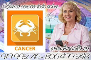 Luna Vila te ofrecerá las tiradas de cartas de tarot de los arcanos, casi gratis: Hoy grandes cambios se avecinan Cáncer