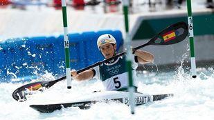 Maialen Chourraut gana la medalla de plata en K1 eslalon