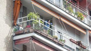 Terraza de una vivienda en Doctor Esquerdo.