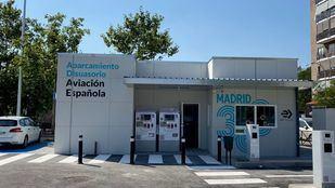 El aparcamiento disuasorio de Aviación Española entra en servicio