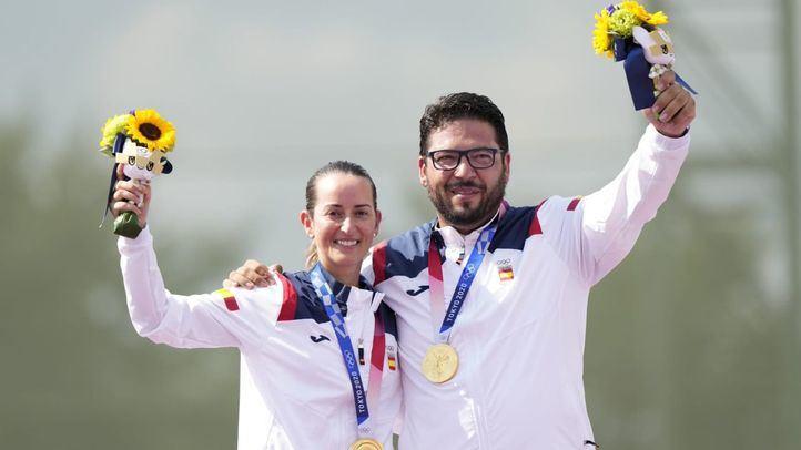 Alberto Fernández y Fátima Gálvez consiguen en tiro olímpico el primer oro para España