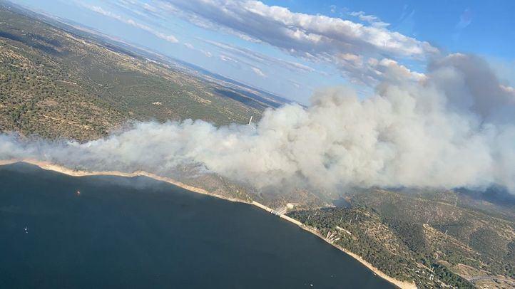 Estabilizado el incendio forestal del Pantano de San Juan