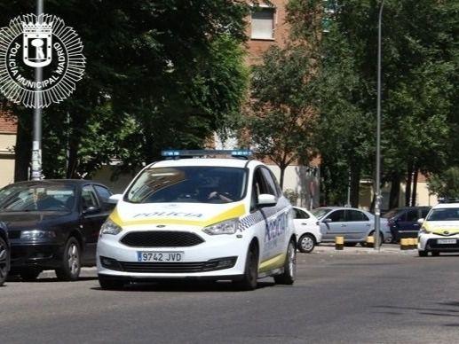 Un vehículo de la Policía Municipal de Madrid