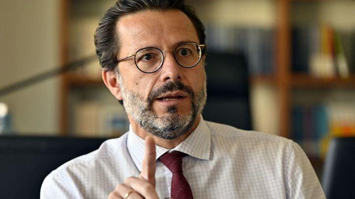 El consejero de Economía, Empleo y Hacienda de la Comunidad de Madrid, Javier Fernández-Lasquetty.