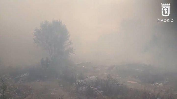 Incendio en Villaverde