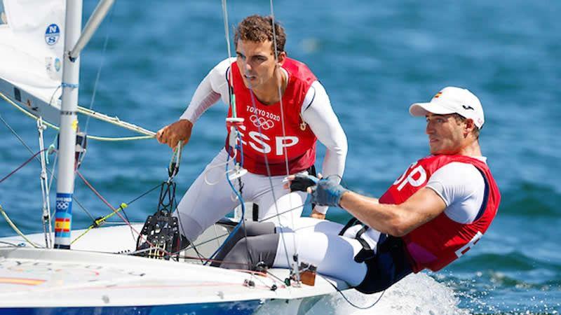 Jordi Xammar y Nico Rodríguez, bronce en clase 470
