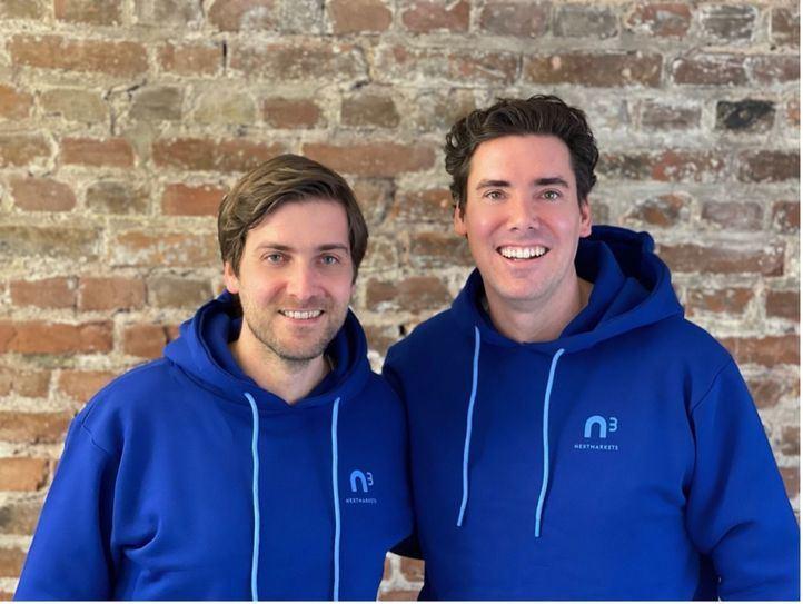 Fundador de nextmarkets, Dominic Heyden, director Técnico (a la izguierda) y Manuel Heyden, director ejecutivo (a la derecha)