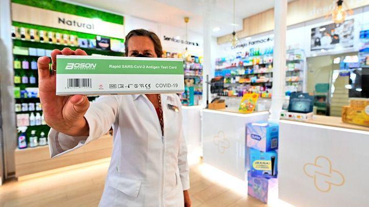 Los test de antígenos vendidos en farmacias detectan 749 positivos