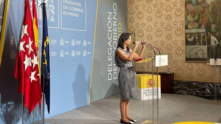 Rueda de prensa de la Delegación del Gobierno en Madrid para hacer balance de las actuaciones del primer semestre