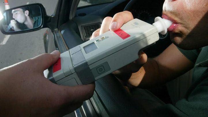 Detectado un conductor que quintuplicaba la tasa de alcoholemia en Rivas