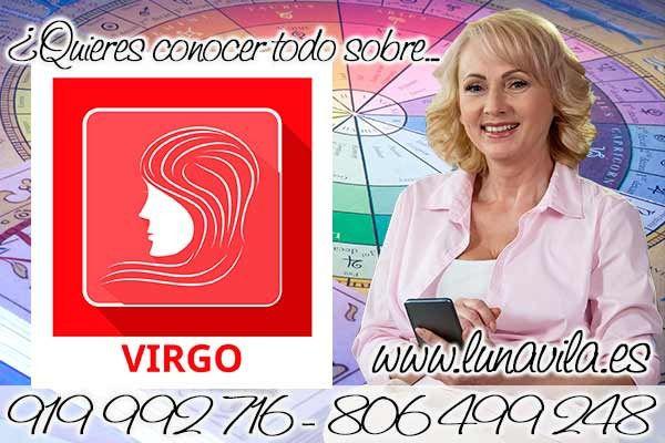 Luna Vila es un de las tarotistas buenas en Vigo: Virgo te señala tu horóscopo de hoy tendrás que elegir entre dos amores