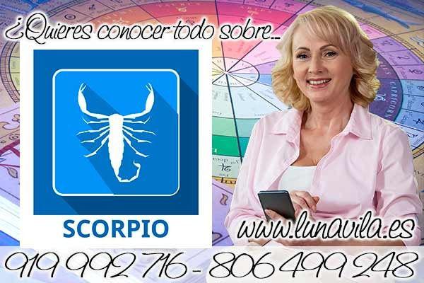 Una vidente en San pedro del Pinatar, es Luna Vila: Escorpio tu horóscopo te señala que hoy tus finanzas aumentarán