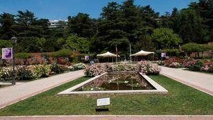 Segundo día consecutivo de balizamiento de zonas en los parques de la capital por calor