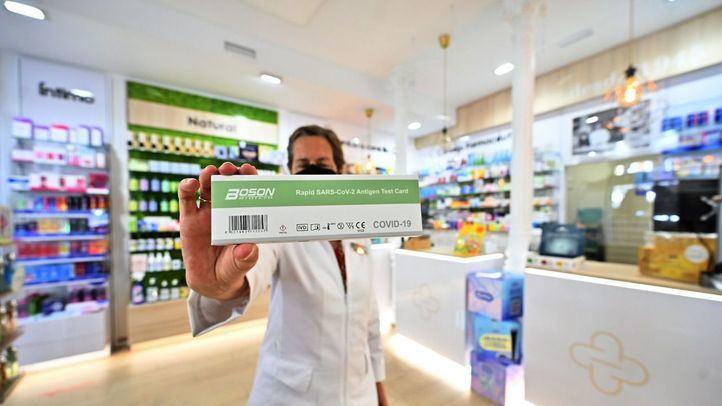 Test Covid en farmacias