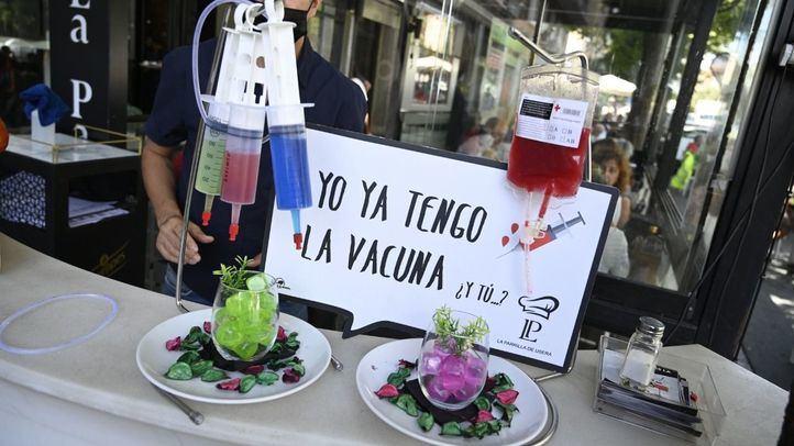 Mojitos contra el Covid: un restaurante se inspira en las vacunas para sus bebidas