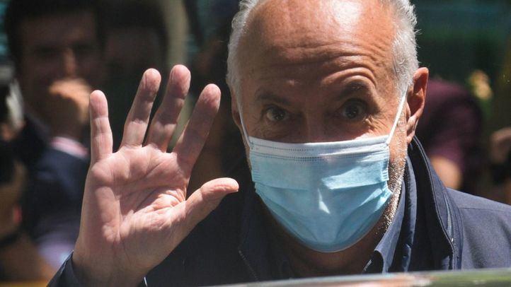 José Luis Moreno a la salida de la Audiencia Nacional