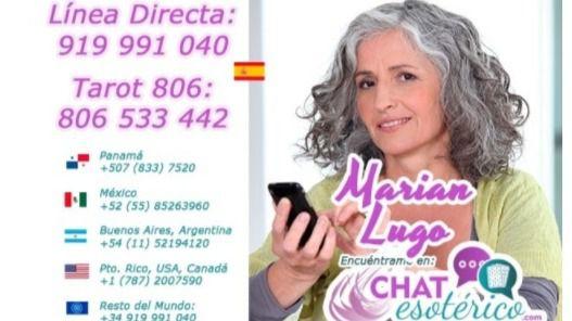 VIDENTES BARATAS – Marian tarot, Marian VIDENTE es una vidente barata y buena: Tarotista Marian LUGO