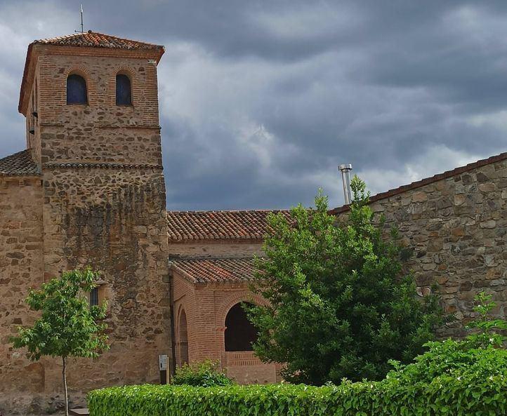 La iglesia parroquial de Santo Domingo de Silos en Prádena del Rincón, declarada BIC