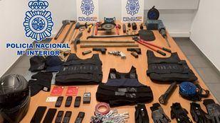 Detenido un grupo especializado en robar droga a narcotraficantes