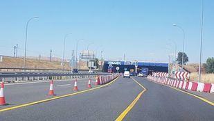 La mitad de los carriles del Túnel de Perales del Río, cortados por obras