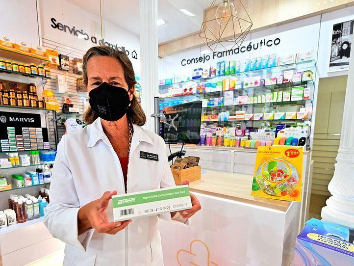 Prueba,Corona Virus,farmacias,vende