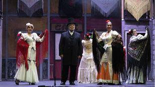 Zarzuela y ballet para La Paloma