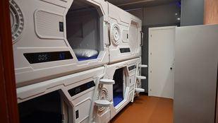 Así es el primer hotel cápsula de Madrid inspirado en películas de ciencia ficción