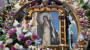 La Virgen de la Paloma celebra su día en una atípica festividad marcada por la pandemia