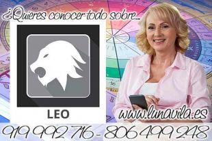 Una buena tirada de cartas del tarot casi gratis de los arcanos, te la dará Luna Vila: Leo hoy un viaje cambiará tu vida