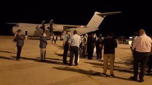 Torrejón recibe a los primeros repatriados de Afganistán