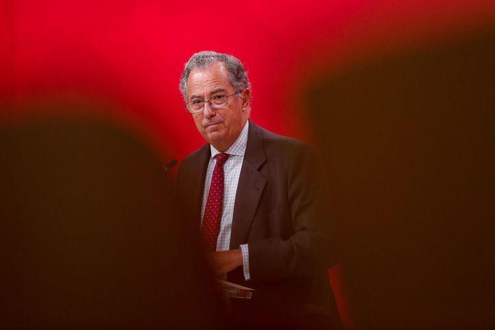 Enrique Ossorio tras el consejo de Gobierno
