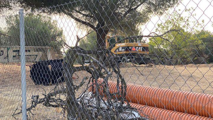Los vecinos de Las Rozas, en pie de guerra por las obras en la Dehesa de Navalcarbón