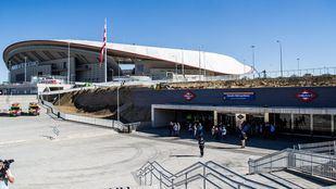 Metro refuerza la línea 7 por el partido de este domingo en el Wanda Metropolitano