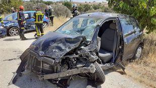 Herido grave un hombre de 45 años tras chocar contra otro vehículo en la M-507