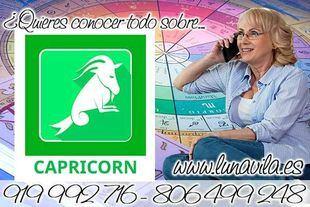 Una vidente con una consulta casi gratis y por teléfono, es Luna Vila: Capricornio, conocerás buenas oportunidades laborales