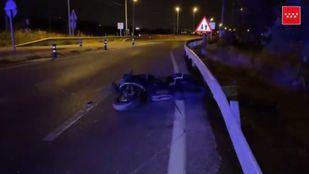 Heridas dos personas en un accidente de moto en Colmenar Viejo