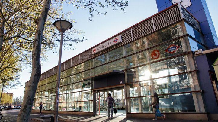 Estación de renfe y metro.