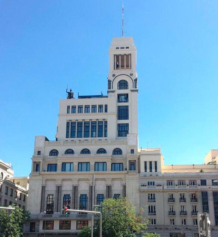 El Círculo de Bellas Artes de Madrid estrena fachada