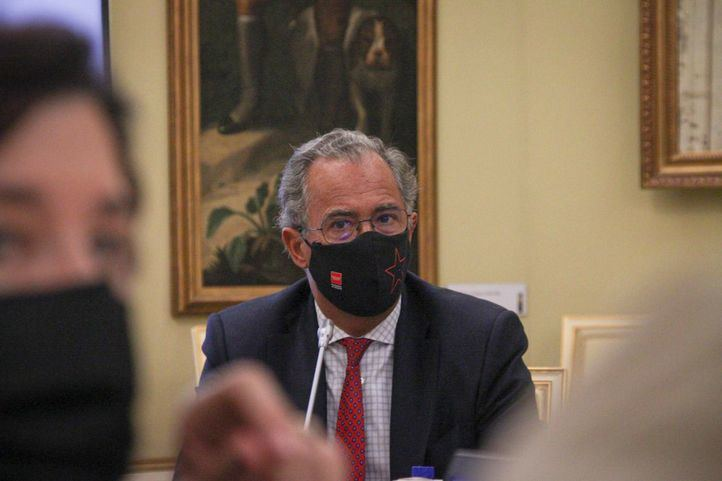 El consejero de Educación, Universidades y Ciencia de la Comunidad de Madrid, Enrique Ossorio, en la Conferencia Sectorial de Educación