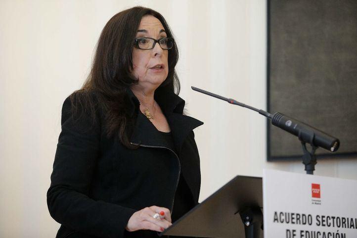 Isabel Galvín, secretaria general de la Federación de Enseñanza de CCOO.