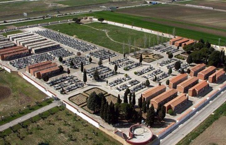 Los terrenos expropiados para el cementerio de Getafe