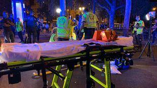 Muy grave tras ser atropellado en Cibeles por un vehículo que se ha dado a la fuga
