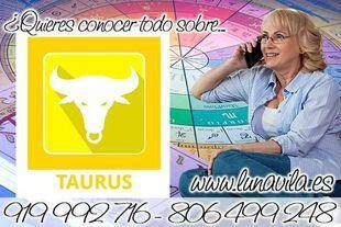 La vidente buena y económica por teléfono más conocida, es Luna Vila: Tauro, debes estar esperanzado