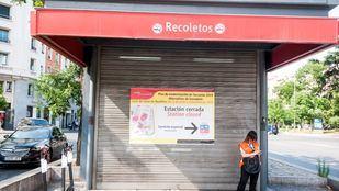 Adif finaliza las obras para mejorar la accesibilidad en la estación de Recoletos