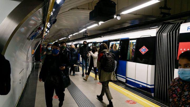 Metro arranca septiembre con la reapertura de uno de los tramos cortados por obras y otros tres a lo largo del mes