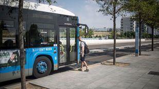 Los buses de la EMT serán gratuitos en hora punta la primera quincena de septiembre