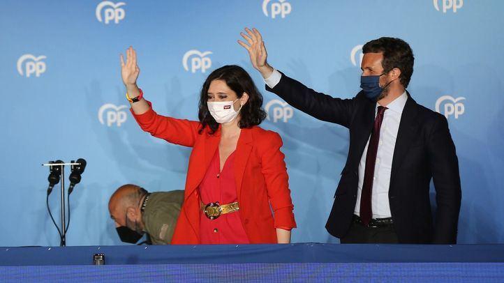 Ayuso no desvela si le ha comunicado a Casado que quiere presidir el PP de Madrid
